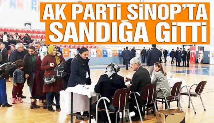 AK Parti Sinop'ta adaylarını belirliyor!