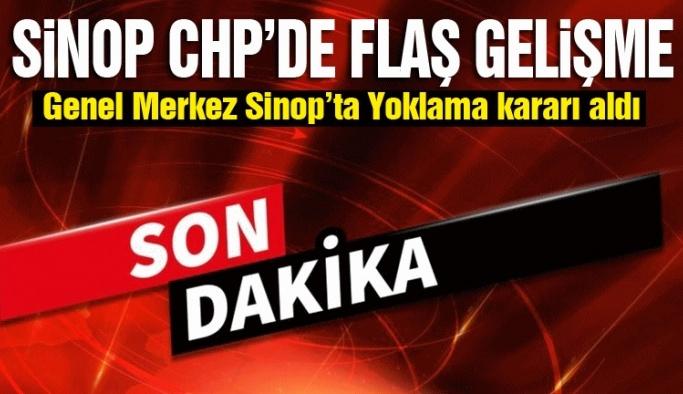 CHP Sinop'ta eğilim yoklaması yapacak