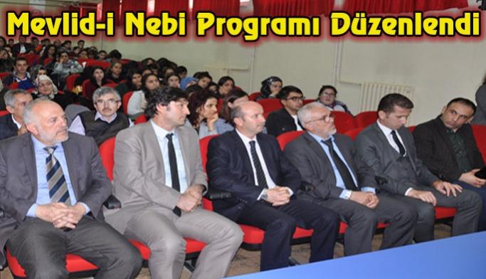 Mevlid-i Nebi Programı Düzenlendi