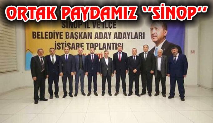 Sinop'ta toplandılar..