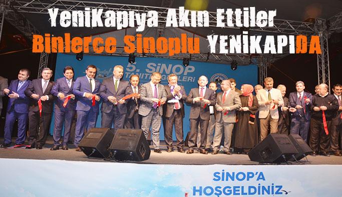 Sinop Yenikapıda Buluştu