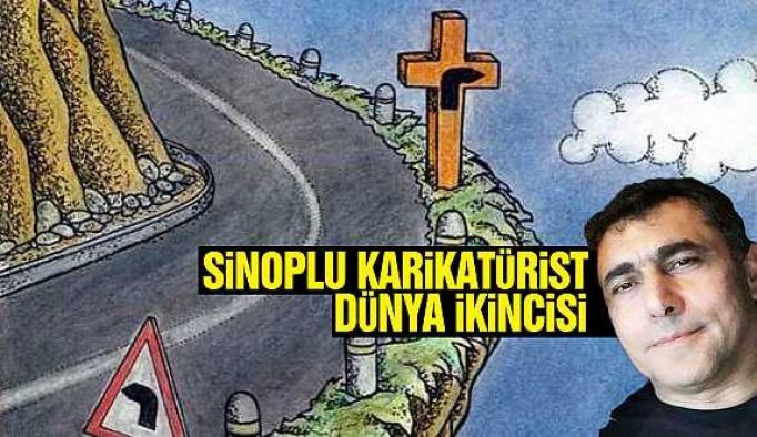 Sinoplu karikatüriste uluslar arası ödül