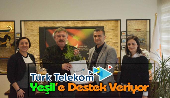 Türk Telekom'dan Anlamlı Hediye