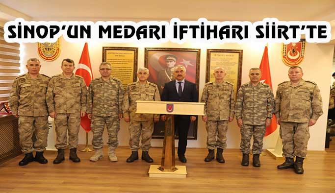 Bakan Yardımcımız Ersoy Mehmetçik'le Siirt'te Buluştu