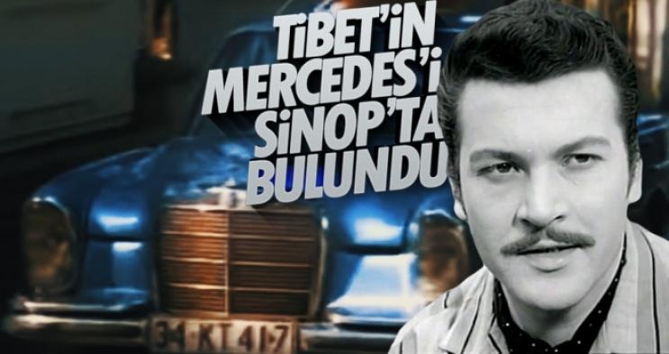 Kartal Tibet'in Efsane Otomobili Sinop'ta Bulundu