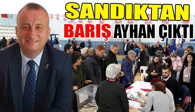"""Sandıktan """"Barış Ayhan"""" çıktı """