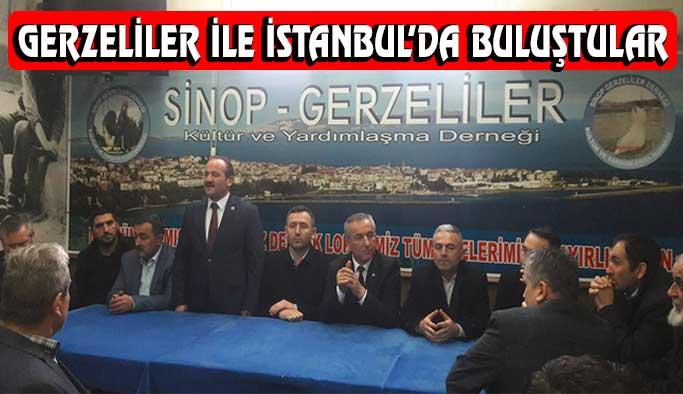 İstanbul'da hemşerilerimizle buluştular