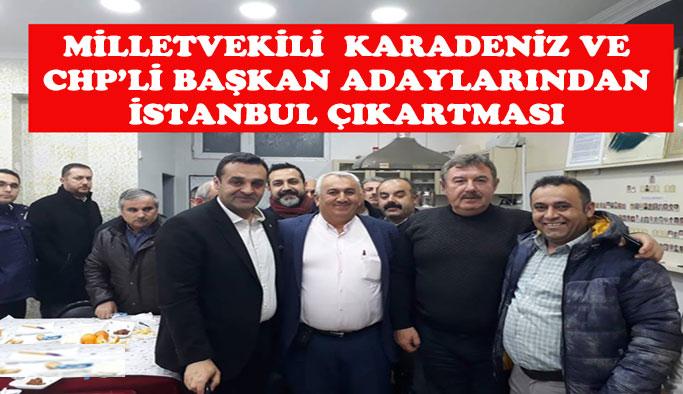İstanbul'da Gurbetçilerimizle Buluştular