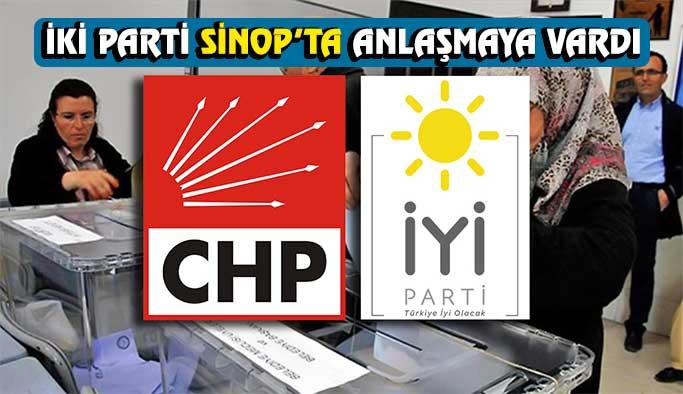 İYİ Parti Sinop'ta CHP Adayını destekleyecek
