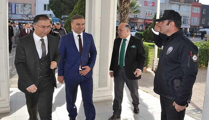 Sinop Valisi Köksal Şakalar, Gerze'ye geldi