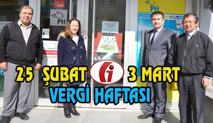 25 Şubat – 3 Mart Vergi Haftası
