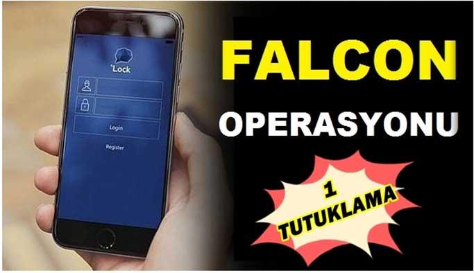 """""""Falcon"""" Operasyonu: 1 Tutuklama"""