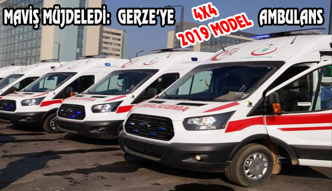 Gerze'ye 2019 Model Ambulans