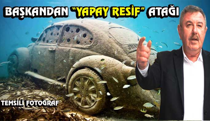 Gerze'ye yapay resif projesi