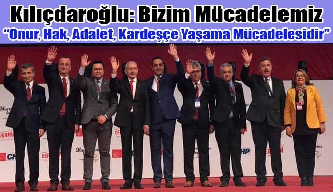 Kılıçdaroğlu, Belediye Başkan Adaylarını Tanıttı