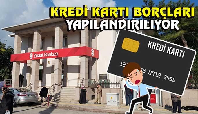 Kredi kartı borcuna yapılandırma duyurusu