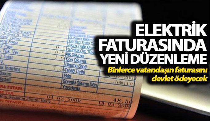 Muhtaç ailelerin elektrik faturasını devlet ödeyecek