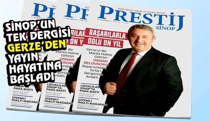 """""""Prestij Sinop"""" okuyucuyla buluştu"""