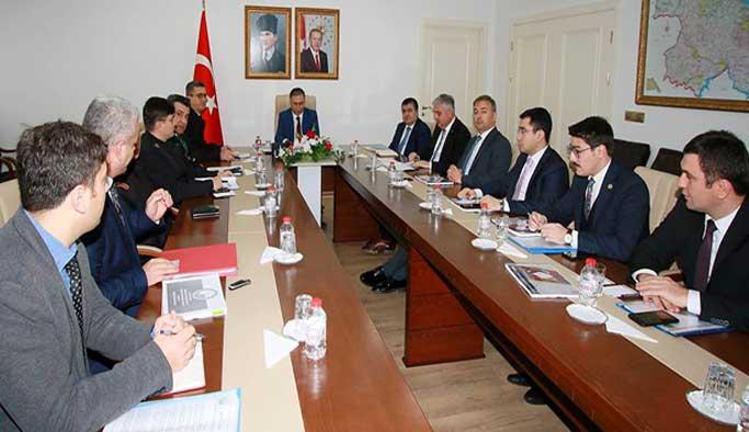 'Seçim Güvenliği' toplantısı yapıldı