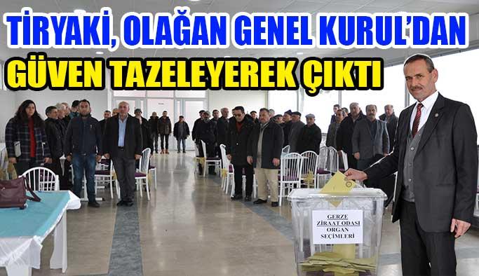Tiryaki, Güven Tazeledi