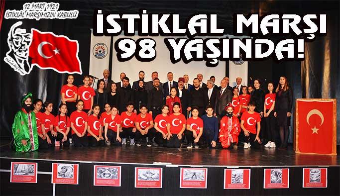 İstiklal Marşımız 98 Yaşında