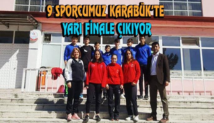 9 Sporcumuz Türkiye Yarı Finale gidiyor