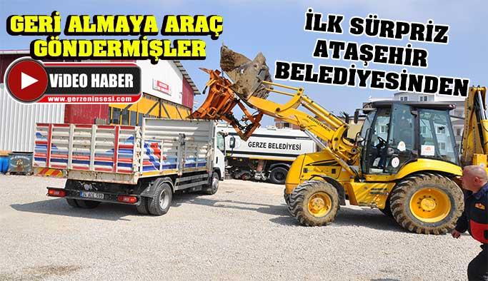 İlk Sürpriz Ataşehir Belediyesinden !!!