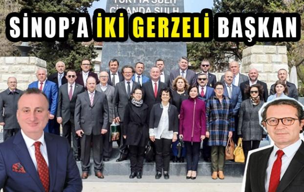 Sinop'a İki Gerzeli Başkan