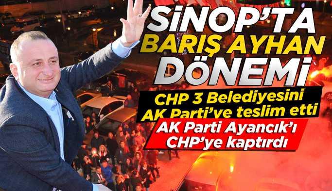 Sinop'ta Barış Ayhan dönemi