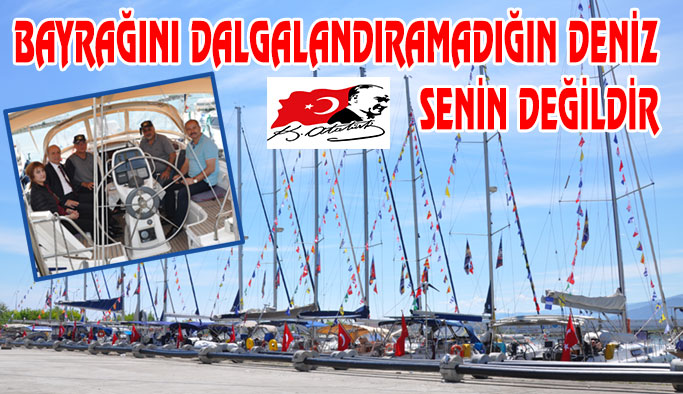 Atatürk Rallisi Bot Takımı Gerze'de