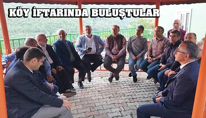Hıdırlı Köyünde iftar programı düzenlendi