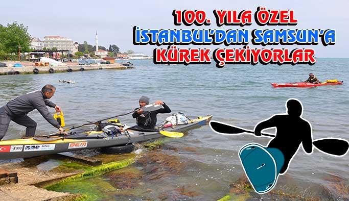 İstanbul'dan Samsun'a 100. Yıl Yolculuğu