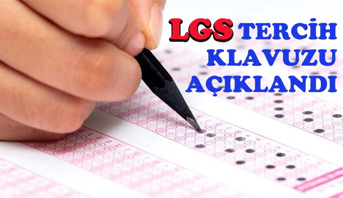 LGS Tercih Kılavuzu Açıklandı