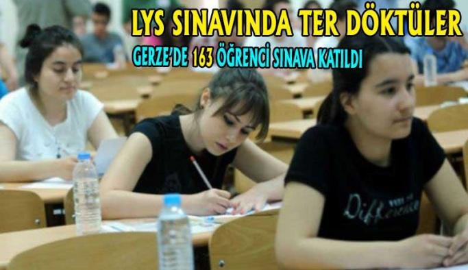 LGS Sınavında Ter Döktüler