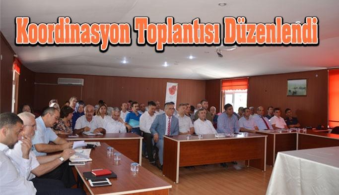 Gerze'de Koordinasyon Toplantısı Düzenlendi