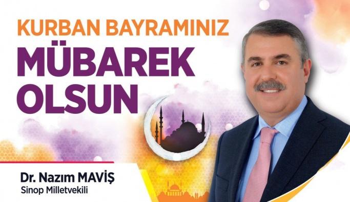 Dr. Nazım Maviş'ten Bayram Kutlaması