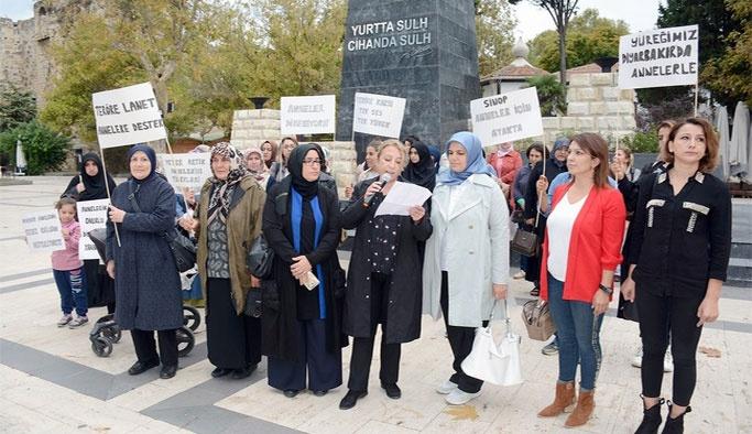 Sinop'tan Diyarbakır Annelerine Destek