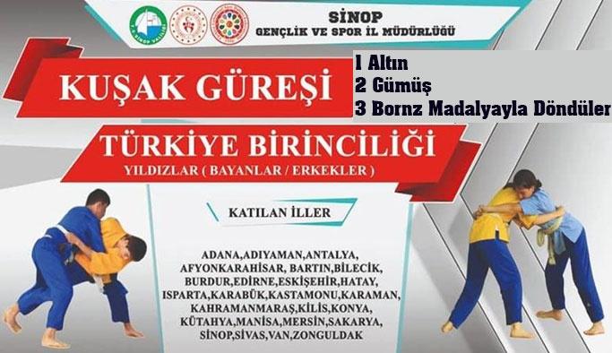 Türkiye Şampiyonluğuyla Tamamladılar