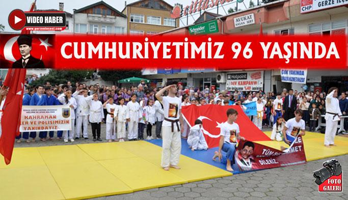 29 Ekim Cumhuriyet Bayramı Gerze'de Kutlandı