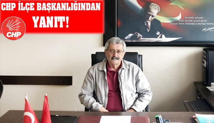 CHP İlçe Başkanlığından Basın Açıklaması