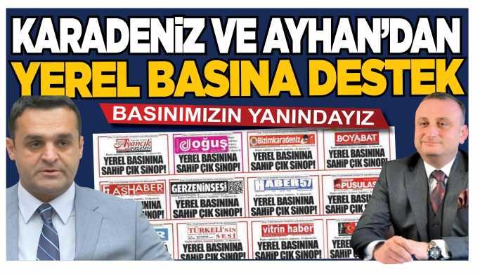 Karadeniz, Sinop Basınına Destek Verdi!