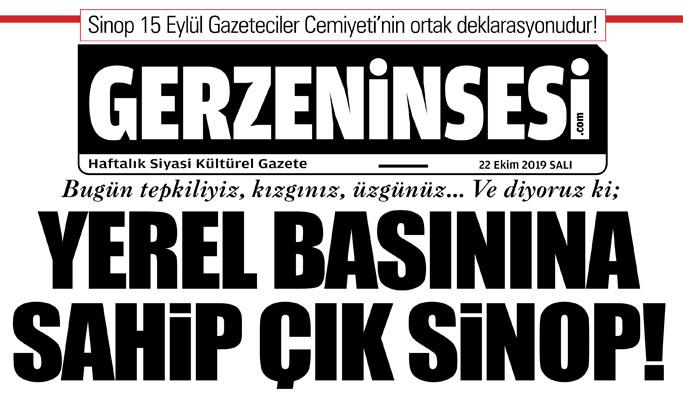 Yerel Basınına Sahip Çık Sinop!