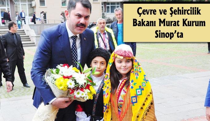 Çevre ve Şehircilik Bakanı Sinop'ta