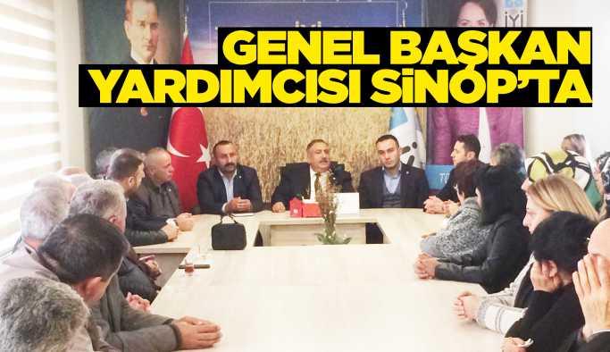 İYİ Parti Genel Başkan Yardımcısı Sinop'ta
