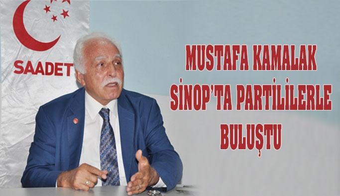 Saadet Partisi Başkan Yardımcısı Sinop'ta