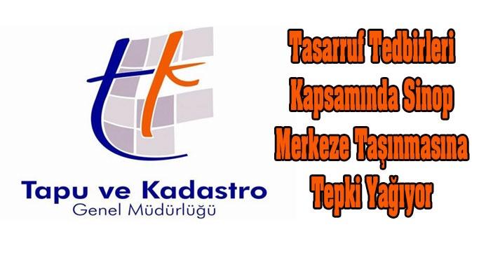 Gerze Tapu ve Kadastro Sinop Merkeze Taşınıyor