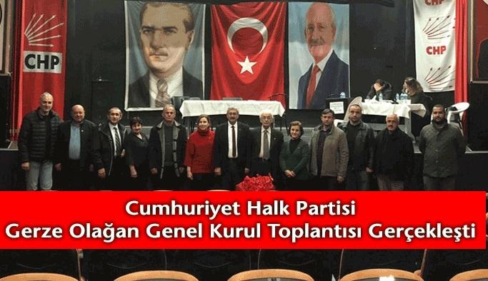 CHP İlçe Başkanı ve Yönetim Kurulu Belirlendi