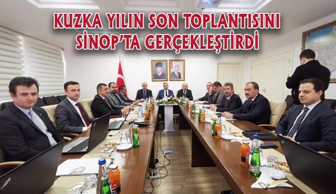 KUZKA Yılın Son Toplantısını Sinop'ta Gerçekleştirdi