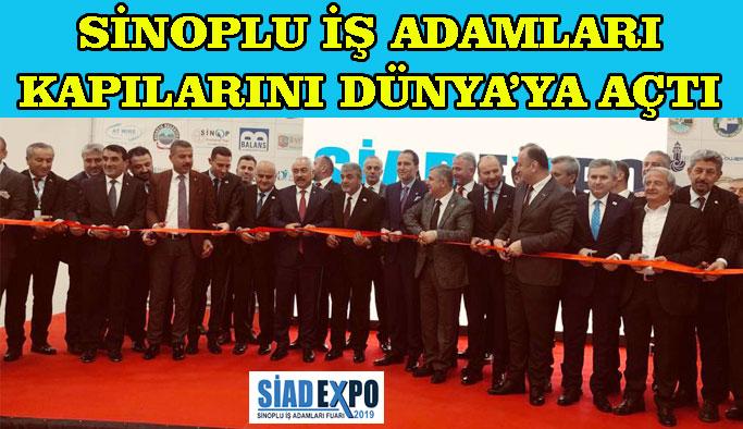 Sinop İçin Buluşalım, Birlikte Kazanalım Sloganıyla Kapılarını Dünyaya Açtılar