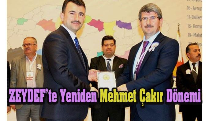 ZEYDEF'te Mehmet Çakır Dönemi